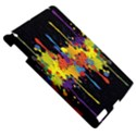 Crazy Multicolored Double Running Splashes Horizon Apple iPad 3/4 Hardshell Case View5