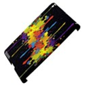 Crazy Multicolored Double Running Splashes Horizon Apple iPad 3/4 Hardshell Case (Compatible with Smart Cover) View4