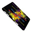 Crazy Multicolored Double Running Splashes Horizon Samsung Galaxy Tab 10.1  P7500 Hardshell Case  View5