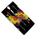 Crazy Multicolored Double Running Splashes Horizon Sony Xperia S View5