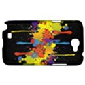 Crazy Multicolored Double Running Splashes Horizon Samsung Galaxy Note 2 Hardshell Case View1
