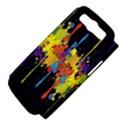 Crazy Multicolored Double Running Splashes Horizon Samsung Galaxy S III Hardshell Case (PC+Silicone) View4