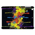 Crazy Multicolored Double Running Splashes Horizon Apple iPad Mini Hardshell Case View1