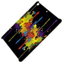 Crazy Multicolored Double Running Splashes Horizon Apple iPad Mini Hardshell Case View4