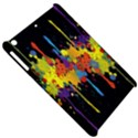 Crazy Multicolored Double Running Splashes Horizon Apple iPad Mini Hardshell Case View5
