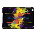 Crazy Multicolored Double Running Splashes Horizon Apple iPad Mini Hardshell Case (Compatible with Smart Cover) View1