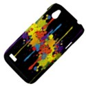 Crazy Multicolored Double Running Splashes Horizon HTC Desire V (T328W) Hardshell Case View4