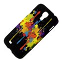 Crazy Multicolored Double Running Splashes Horizon Samsung Galaxy S4 I9500/I9505 Hardshell Case View4