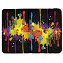 Crazy Multicolored Double Running Splashes Horizon Samsung Galaxy Tab 7  P1000 Flip Case View1