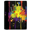 Crazy Multicolored Double Running Splashes Horizon Samsung Galaxy Tab 10.1  P7500 Flip Case View2