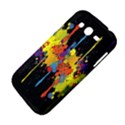 Crazy Multicolored Double Running Splashes Horizon Samsung Galaxy Grand DUOS I9082 Hardshell Case View4