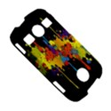 Crazy Multicolored Double Running Splashes Horizon Samsung Galaxy S7710 Xcover 2 Hardshell Case View5