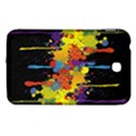 Crazy Multicolored Double Running Splashes Horizon Samsung Galaxy Tab 3 (7 ) P3200 Hardshell Case  View1