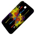 Crazy Multicolored Double Running Splashes Horizon Samsung Galaxy Tab 3 (7 ) P3200 Hardshell Case  View4