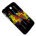 Crazy Multicolored Double Running Splashes Horizon Samsung Galaxy Tab 3 (7 ) P3200 Hardshell Case  View5