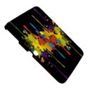 Crazy Multicolored Double Running Splashes Horizon Samsung Galaxy Tab 3 (10.1 ) P5200 Hardshell Case  View5
