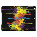 Crazy Multicolored Double Running Splashes Horizon iPad Air Hardshell Cases View1