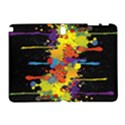Crazy Multicolored Double Running Splashes Horizon Samsung Galaxy Note 10.1 (P600) Hardshell Case View1