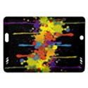 Crazy Multicolored Double Running Splashes Horizon Amazon Kindle Fire HD (2013) Hardshell Case View1