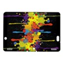 Crazy Multicolored Double Running Splashes Horizon Kindle Fire HDX 8.9  Hardshell Case View1