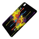 Crazy Multicolored Double Running Splashes Horizon Samsung Galaxy Tab Pro 8.4 Hardshell Case View5
