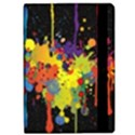 Crazy Multicolored Double Running Splashes Horizon iPad Air Flip View2