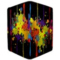 Crazy Multicolored Double Running Splashes Horizon iPad Air Flip View3