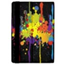 Crazy Multicolored Double Running Splashes Horizon iPad Air Flip View4