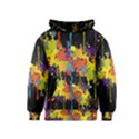 Crazy Multicolored Double Running Splashes Horizon Kids  Pullover Hoodie View1