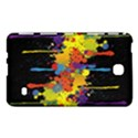 Crazy Multicolored Double Running Splashes Horizon Samsung Galaxy Tab 4 (7 ) Hardshell Case  View1