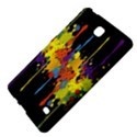 Crazy Multicolored Double Running Splashes Horizon Samsung Galaxy Tab 4 (7 ) Hardshell Case  View4