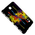 Crazy Multicolored Double Running Splashes Horizon Samsung Galaxy Tab 4 (7 ) Hardshell Case  View5