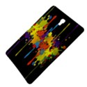 Crazy Multicolored Double Running Splashes Horizon Samsung Galaxy Tab S (8.4 ) Hardshell Case  View4