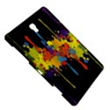 Crazy Multicolored Double Running Splashes Horizon Samsung Galaxy Tab S (8.4 ) Hardshell Case  View5