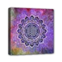 Flower Of Life Indian Ornaments Mandala Universe Mini Canvas 6  x 6  View1