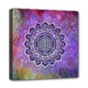 Flower Of Life Indian Ornaments Mandala Universe Mini Canvas 8  x 8  View1