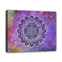 Flower Of Life Indian Ornaments Mandala Universe Canvas 10  x 8  View1