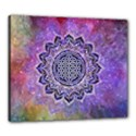 Flower Of Life Indian Ornaments Mandala Universe Canvas 24  x 20  View1