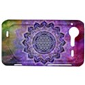 Flower Of Life Indian Ornaments Mandala Universe HTC Incredible S Hardshell Case  View1