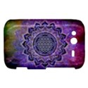 Flower Of Life Indian Ornaments Mandala Universe HTC Wildfire S A510e Hardshell Case View1