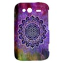 Flower Of Life Indian Ornaments Mandala Universe HTC Wildfire S A510e Hardshell Case View2
