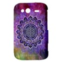 Flower Of Life Indian Ornaments Mandala Universe HTC Wildfire S A510e Hardshell Case View3