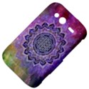 Flower Of Life Indian Ornaments Mandala Universe HTC Wildfire S A510e Hardshell Case View4