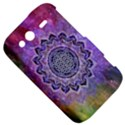 Flower Of Life Indian Ornaments Mandala Universe HTC Wildfire S A510e Hardshell Case View5