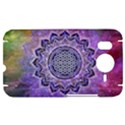 Flower Of Life Indian Ornaments Mandala Universe HTC Desire HD Hardshell Case  View1