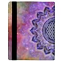 Flower Of Life Indian Ornaments Mandala Universe Apple iPad 2 Flip Case View3