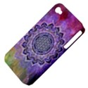 Flower Of Life Indian Ornaments Mandala Universe Apple iPhone 4/4S Hardshell Case (PC+Silicone) View4