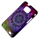 Flower Of Life Indian Ornaments Mandala Universe Samsung Galaxy S II i9100 Hardshell Case (PC+Silicone) View4