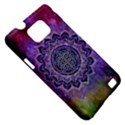 Flower Of Life Indian Ornaments Mandala Universe Samsung Galaxy S II i9100 Hardshell Case (PC+Silicone) View5