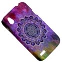 Flower Of Life Indian Ornaments Mandala Universe HTC Desire V (T328W) Hardshell Case View5